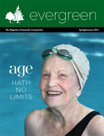 Evergreen Cover Spring/Summer 2013