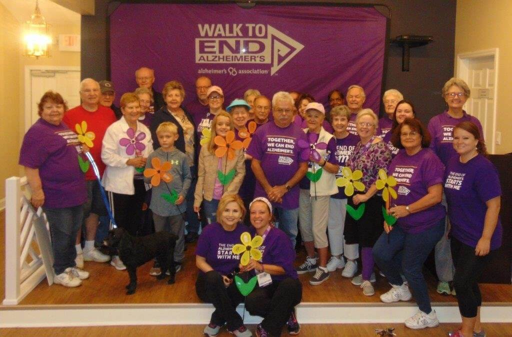 King's Grant Hosts Walk to End Alzheimer's